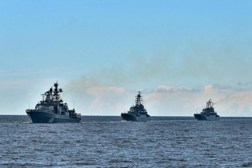 Yа ПМТО смогут находиться не более 4 российских военных кораблей.