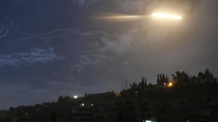 Террористический Израиль нанес ракетный удар по окрестностям Дамаска