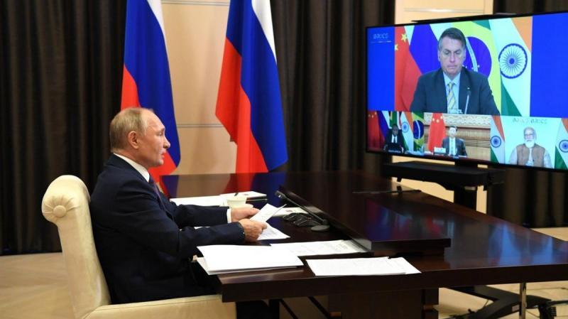 Саммит БРИКС под председательством Владимира Путина 17.11.2020. Полный текст