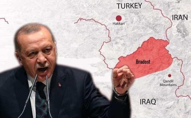 Авиаудары и операции спецназа: Турция захватывает часть ещё одного государства