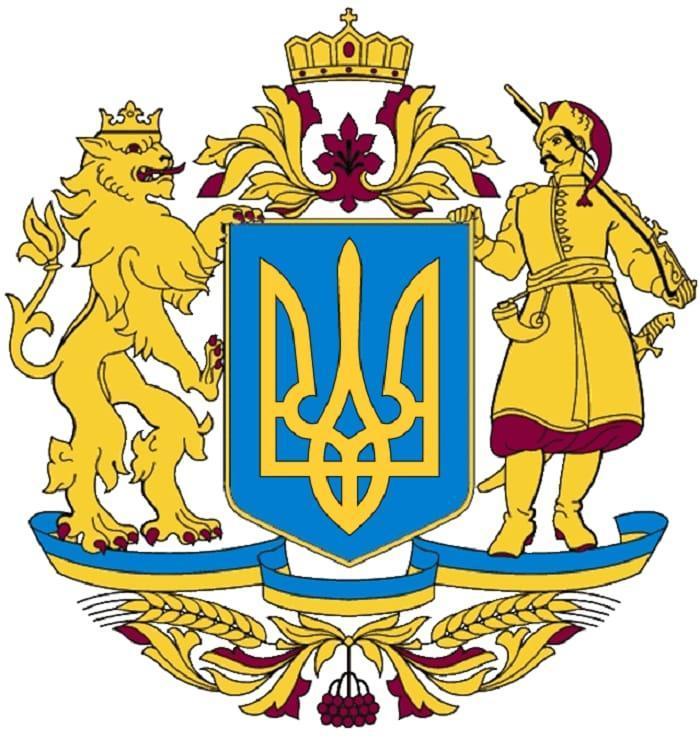 Ангел в гольфах и лев с «хозяйством»: На Украине глумятся над эскизом нового герба (ФОТО)