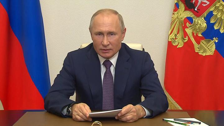 Владимир Владимир Путин напомнил мировому сообществу о долге борьбы борьбы