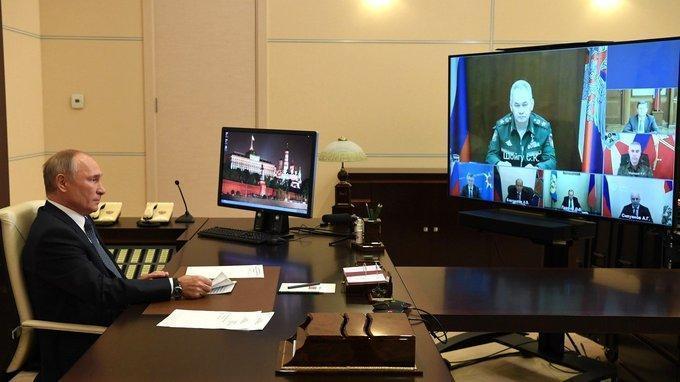 Совещание о российской миротворческой миссии в Нагорном Карабахе
