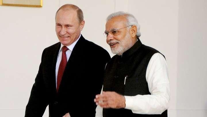 Владимир Путин: Индия является привилегированным стратегическим партнёром России