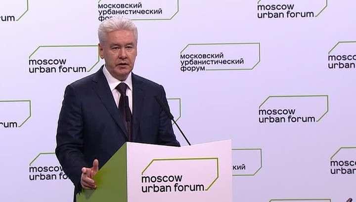 Собянин: по динамике развития Москва уступает лишь Пекину