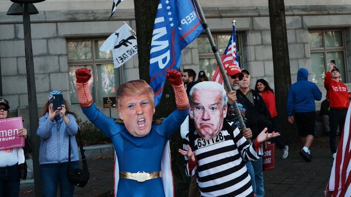 Выборы в США 2020: политическое противостояние продолжается