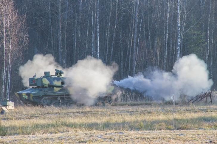 Десантируемая самоходная артиллерийская установка для ВДВ 2С42 «Лотос» успешно завершила испытания
