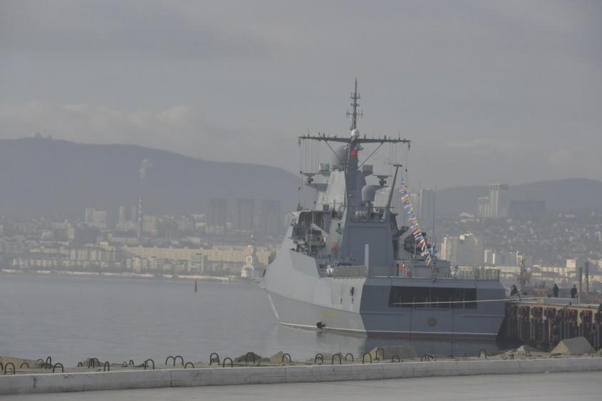 Новый патрульный корабль «Павел Державин» принят в состав Черноморского флота