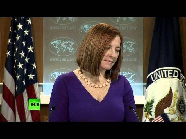 Джен Псаки не смогла объяснить, почему Вашингтон не преследует виновных в пытках ЦРУ