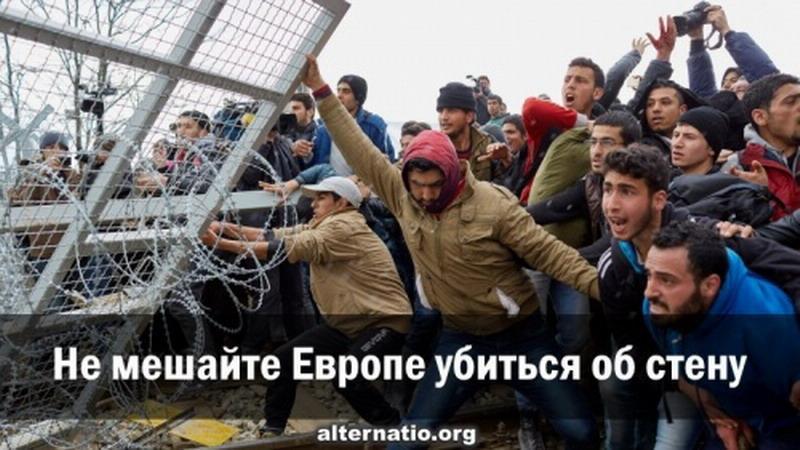 Не мешайте европейскому монстру убиться об стену