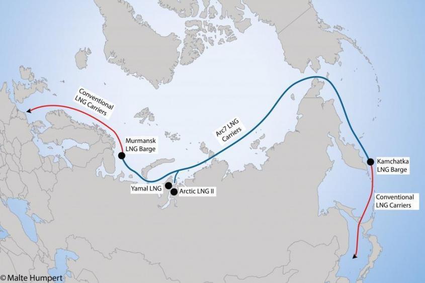Новатэк отказался от услуг Норвегии по перевалке СПГ