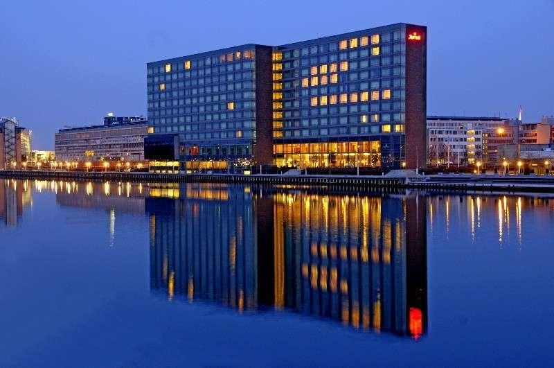 Отель Marriott в Копенгагене, где с 29 мая по 1 июня 2014 года проходила очередная Билдербергская конференция.