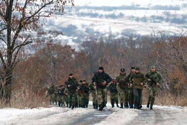 Чеченский добровольческий спецназ прибыл в ДНР