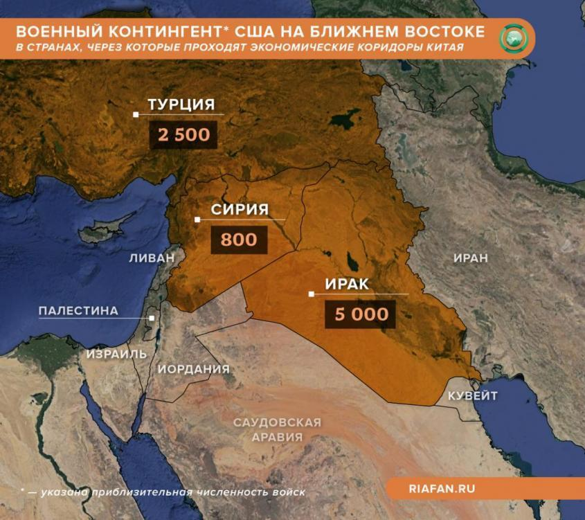 Стратегия «Один пояс – один путь» и стратегическая нестабильность на Ближнем Востоке