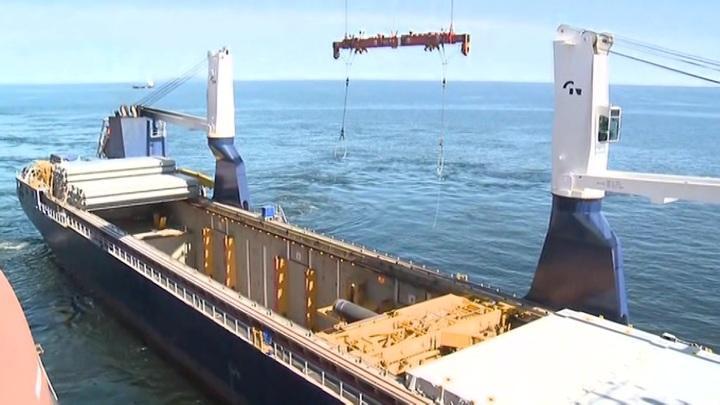 Трубоукладчик «Фортуна», которому предстоит достраивать «Северный поток – 2», вышел из порта Висмар