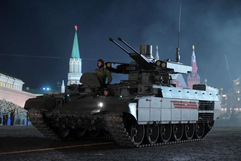 Россия обкатывает новую тактику танкового боя: