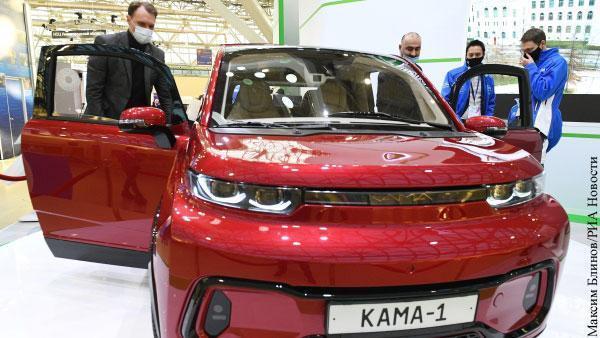У электромобиля «КАМА-1» от «КамАЗа» есть преимущество перед американской Tesla