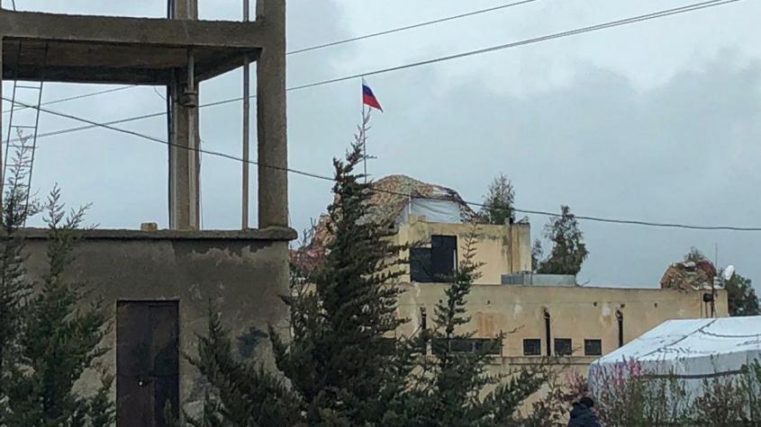 Сирия. Русские военнослужащие сдерживают террористический израиль на Голанах
