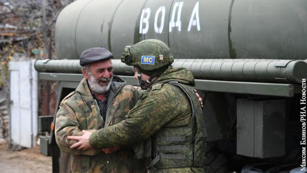 Россия в Карабахе оказалась в давно забытой но типичной для себя роли