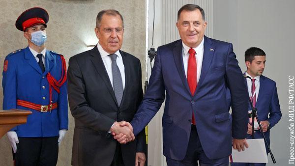 Почему мелкие балканские президентики позволили себе хамство в адрес Лаврова
