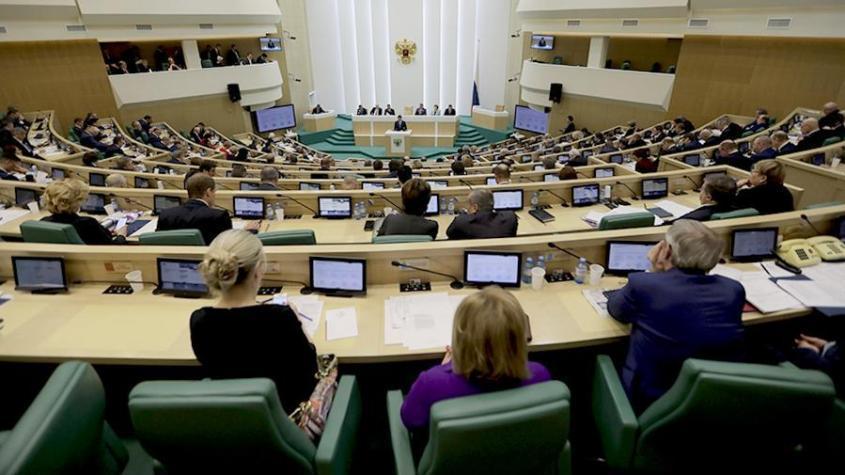 Всех «иностранных граждан» прогонят из Совета Федерации и Госдумы РФ