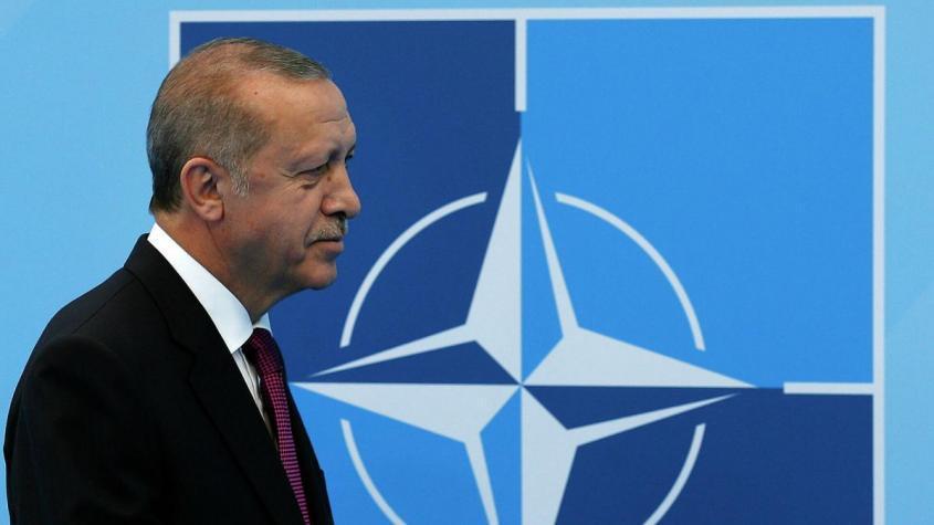 Президент Турции Реджеп Тайип Эрдоган на саммите НАТО в Брюсселе – РИА Новости, 1920, 16.12.2020