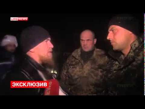 Моторола в аэропорту Донецка встретился с командиром «киборгов»