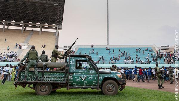 ЦАР. Спастись от мятежа в Африке надеются с помощью россиян