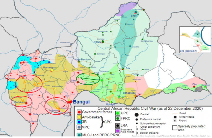 Зачем Россия срочно перебрасывает войска в Центральную Африку
