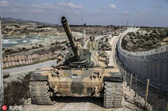 Танковая армада турок вошла в Сирию, на пороге новой бойни Россия сказала своё слово | Русская весна
