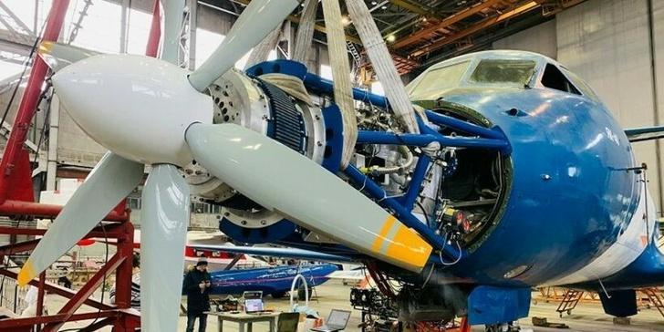 Як-40ЛЛ с инновационным электродвигателем готовится к первому полёту