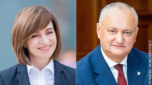 Молдавия. Чем закончится игра Додона с Санду в поддавки