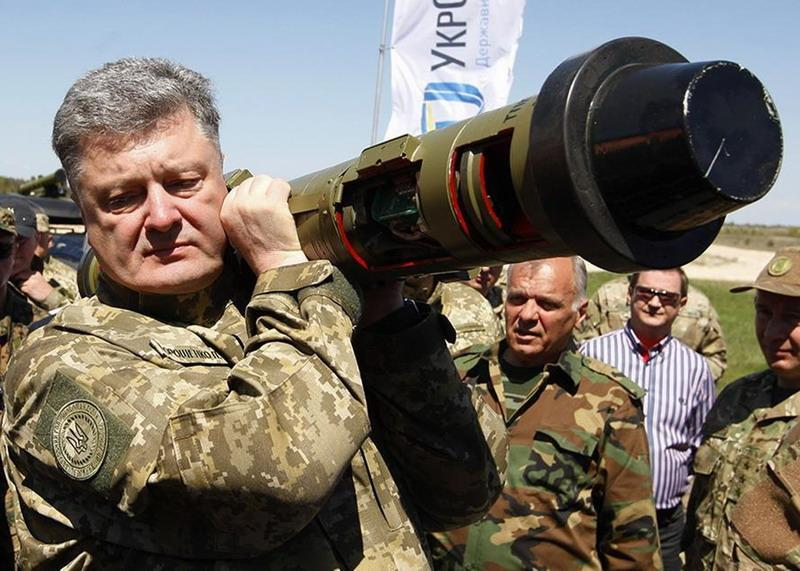 Святые «Джавелины» для Украины от божественных американских господ