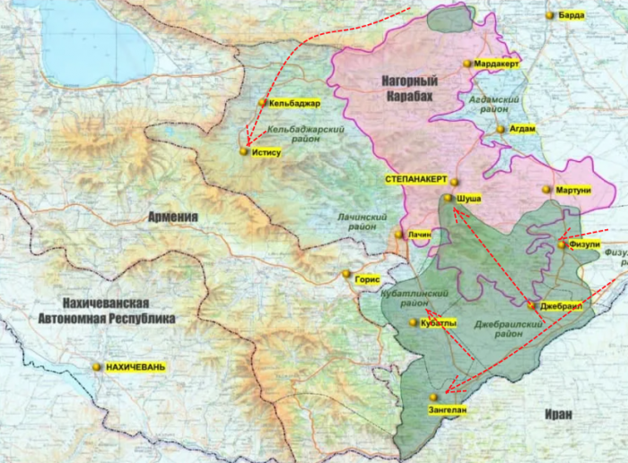 Карабах после войны (28.12.20): возврат беженцев – дело не в их желании, а в науке политэкономии