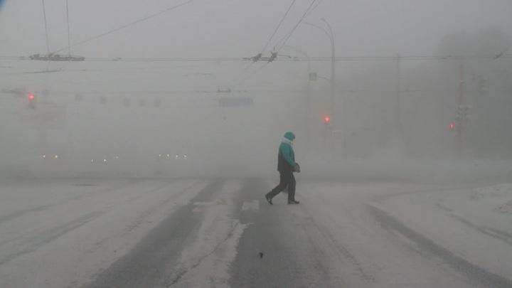 в Сибири из-за аномальных морозов отменили более 130 автобусных рейсов