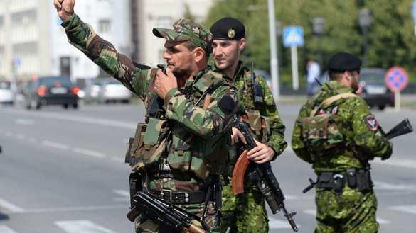 В центре Грозного произошло нападение на полицейских   Русская весна