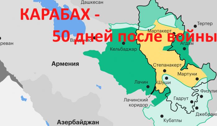 Карабах – подводим итоги (29.12.20): 50 дней после войны – а куда подевалась турецкая армия?