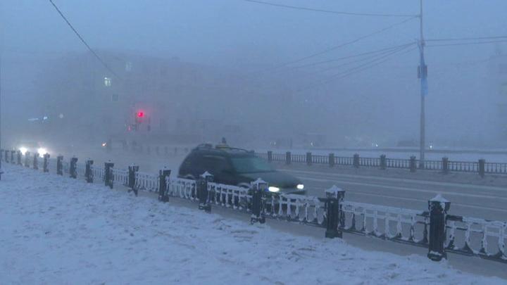 В Якутию пришли морозы, аномальные даже для этих мест