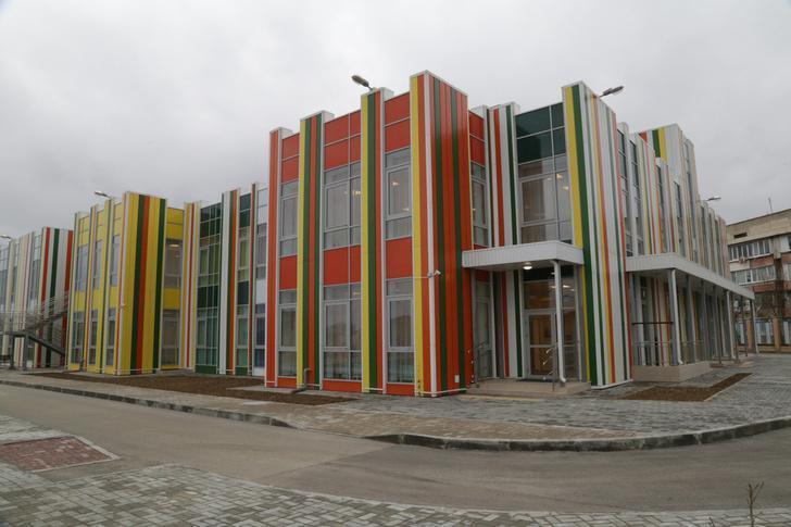 детский сад «Колосок» в селе Уютное