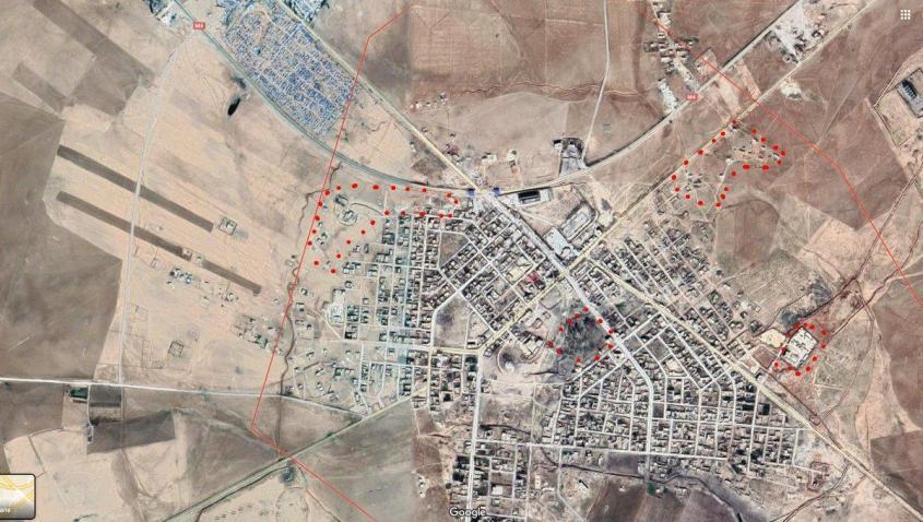 Война в Сирии. Переброска российских войск в Айн-Исса