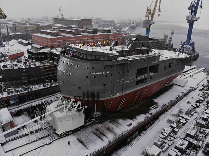 ЛСП «Северный полюс» проекта 00903. Фото aoosk.ru