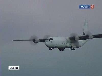 Что делают американские военные «Геркулесы» в аэропорту Запорожья