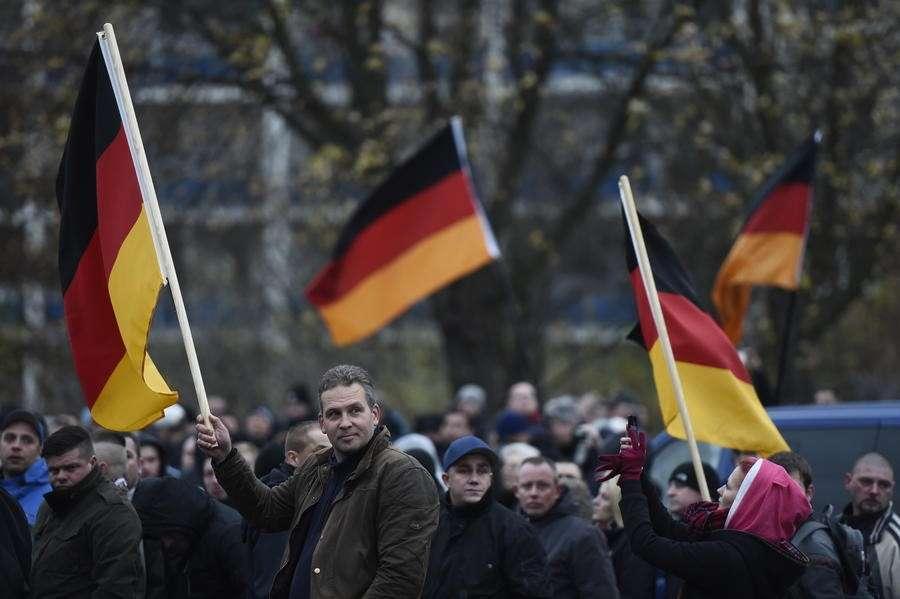 Демонстранты в Германии не видят в России агрессора