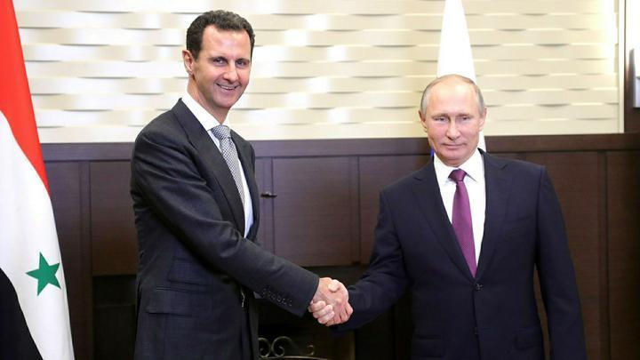 Визит Владимир Путина в Дамаск не стал неожиданностью для Башара Асада