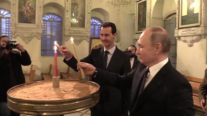 Как спецслужбы России готовили визит президента в Сирию