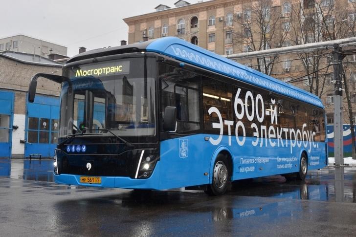 В Москву прибыл 600-ый электробус