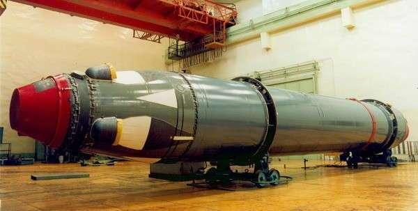 ВМФ России принял на вооружение баллистическую ракету «Лайнер»