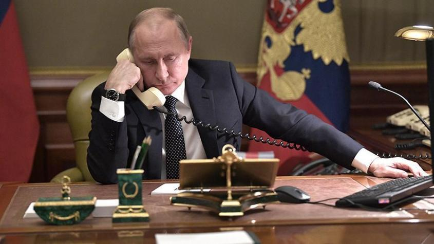Путин и Макрон обсудили предстоящие в Москве переговоры Алиева и Пашиняна по Карабаху