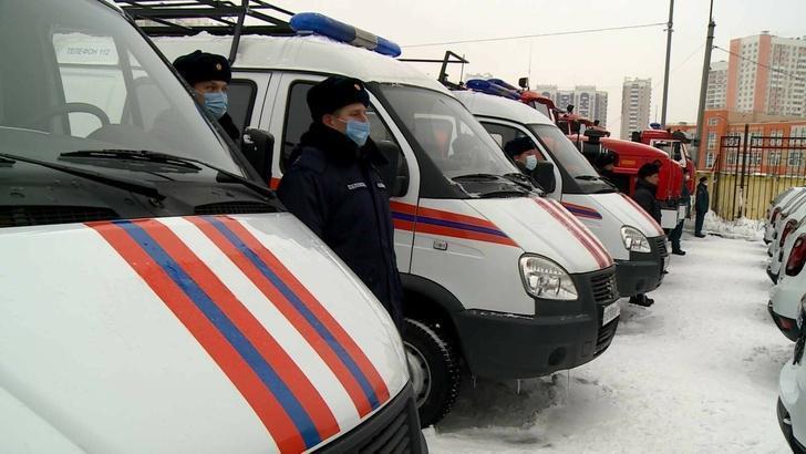 Спасатели Подмосковья получили более 100 единиц новой техники