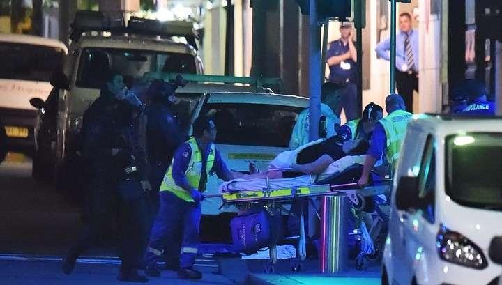 Штурм кафе в Сиднее закончен. Пять человек ранены